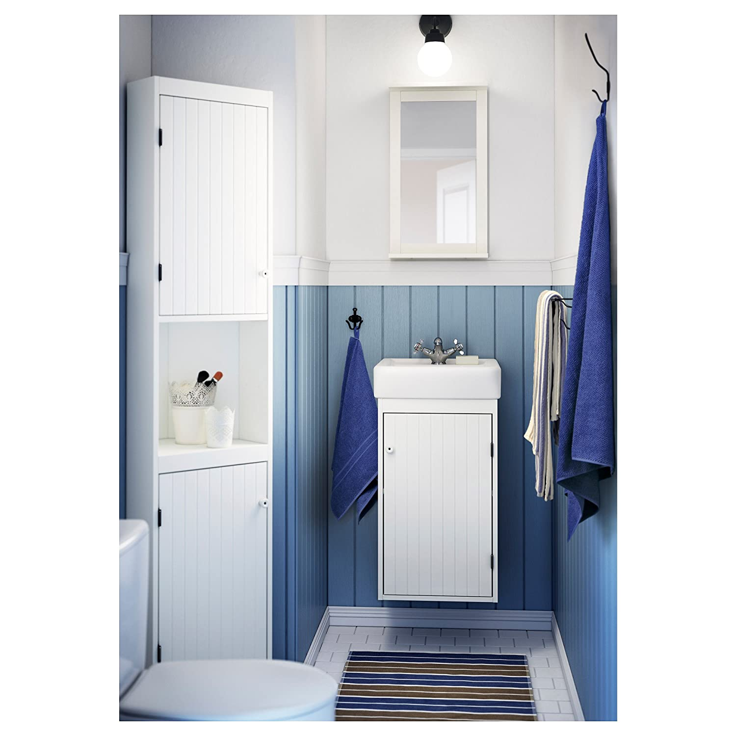 ikea bathroom cabinet white