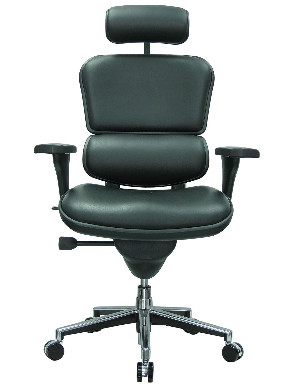 Terrific Ergohuman Ergonomic Executive Leather Chair Black Ibusinesslaw Wood Chair Design Ideas Ibusinesslaworg