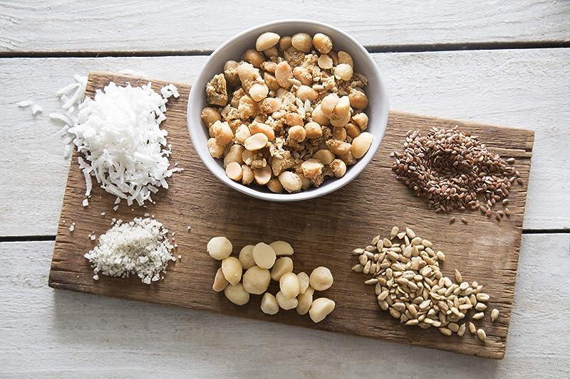 Keto Candied Macadamia Nuts