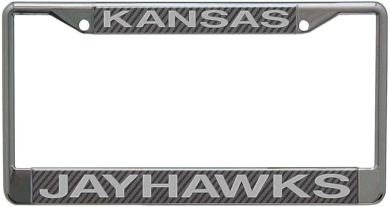 University of S18983 LIC PLT Frame S//L Metallic Wincraft Kansas