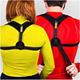 VOELUX Posture Corrector Clavicle Support Brace for Men and Women Upper Back