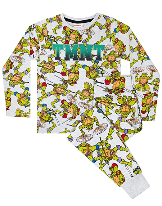 Tortugas Ninja por Todas Partes niños Pijamas Set impresión ...
