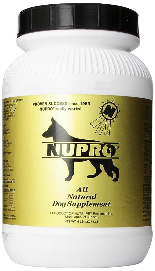 nupro dog supplement