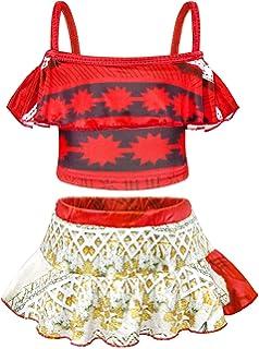 Marvelous AmzBarley Moana Swimming Costume For Girls Kids Swimwear Swimsuit Summer  Beachu2026