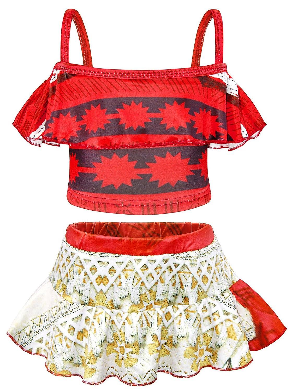 AmzBarley Moana Swimming Costume for Girls Kids Swimwear Swimsuit Summer Beach Holiday Bathing Suit