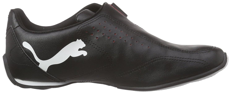 Puma Redon Move - Zapatillas, unisex adulto, Black/White/High Risk Red 2, 39