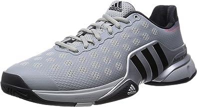adidas Barricade 2015 Zapatilla de Tenis para Hombre, Gris, 40 2/3: Amazon.es: Zapatos y complementos