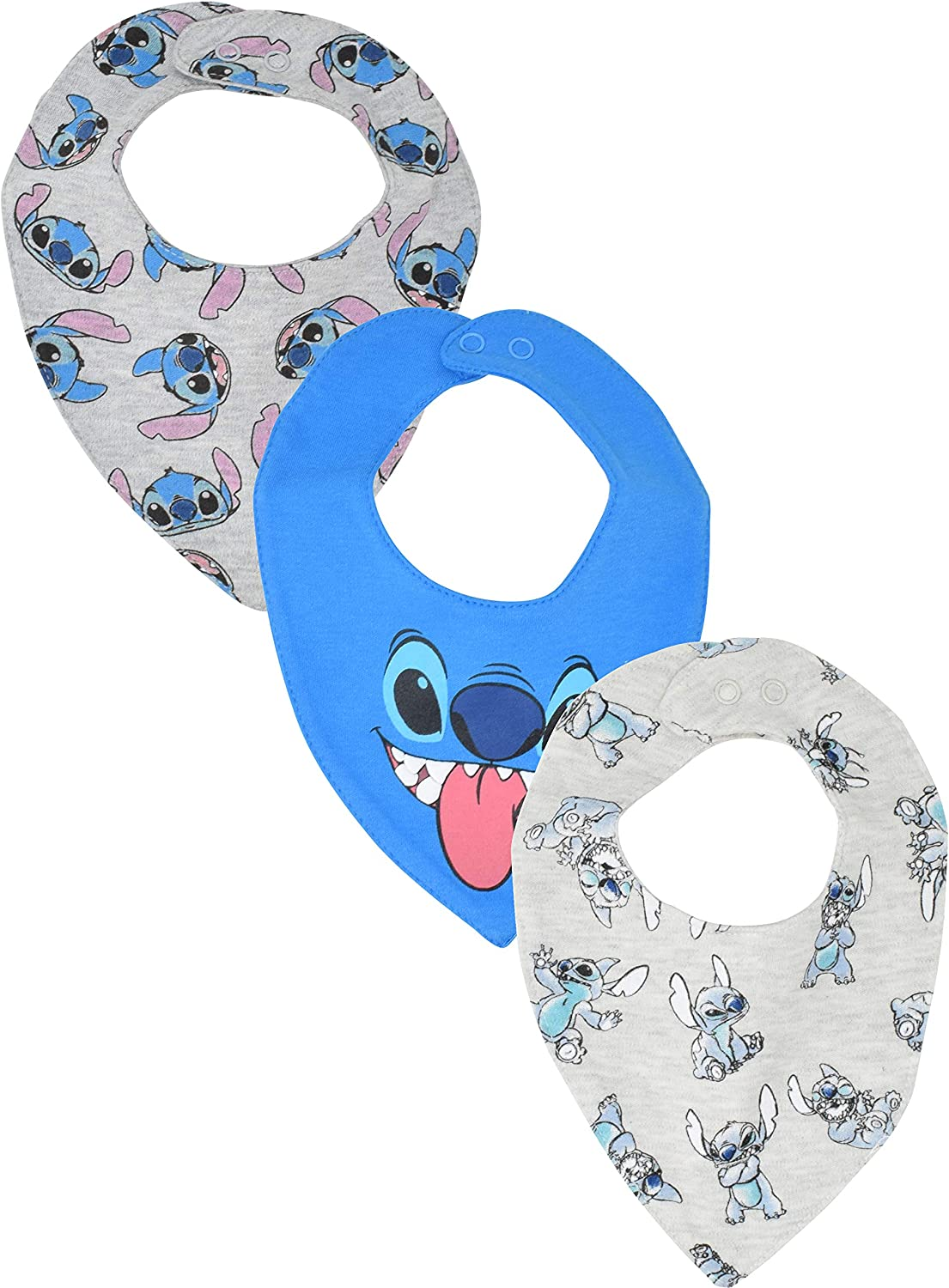Disney Baby Boys 3 Pack Bibs Lion King Winnie the Pooh Toy Story Marvel Avengers