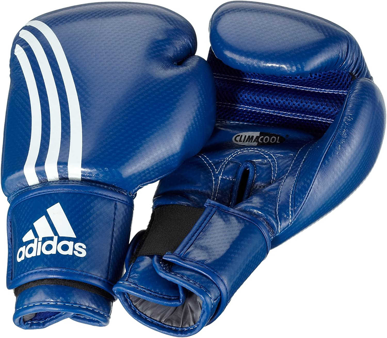Amazon.com : adidas Shadow Boxing Glove Blue (16oz) : Training ...