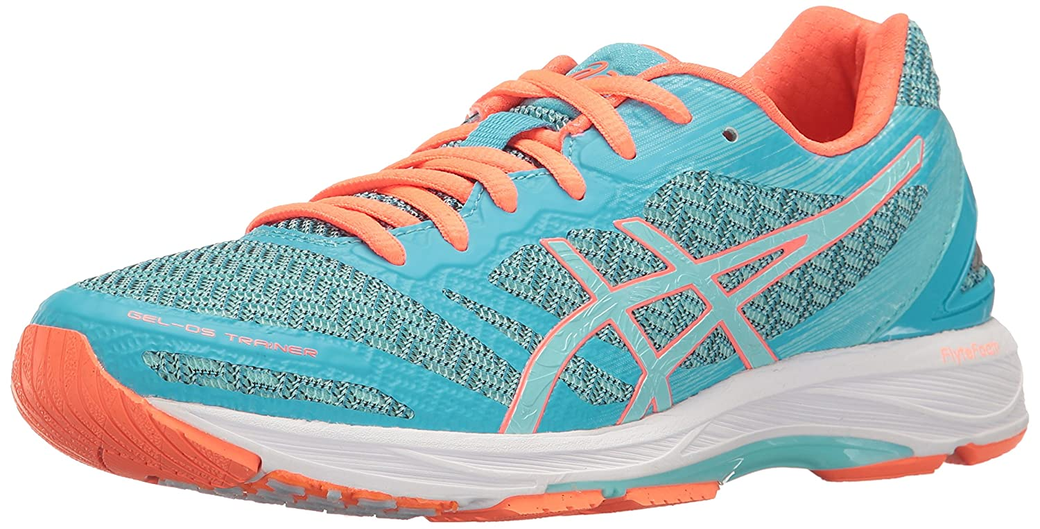 ASICS Women's Gel-DS Trainer 22 Running Shoe B01GSVJCYY 7.5 B(M) US|Aquarium/Aqua Splash/Flash Coral