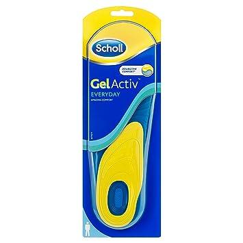 Scholl - Gel Activ Everyday Einlegesohlen für Frauen 1 Stk U1LgJK2