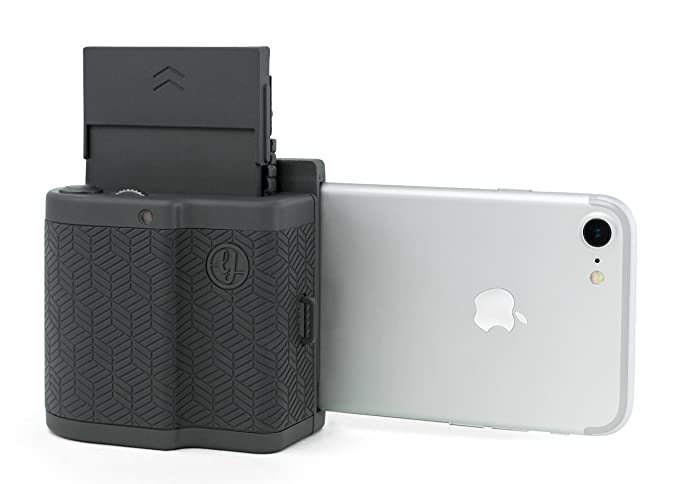 competitive price 39a25 282a8 Prynt Pocket, Instant Photo Printer for iPhone - Graphite (PW310001-DG)