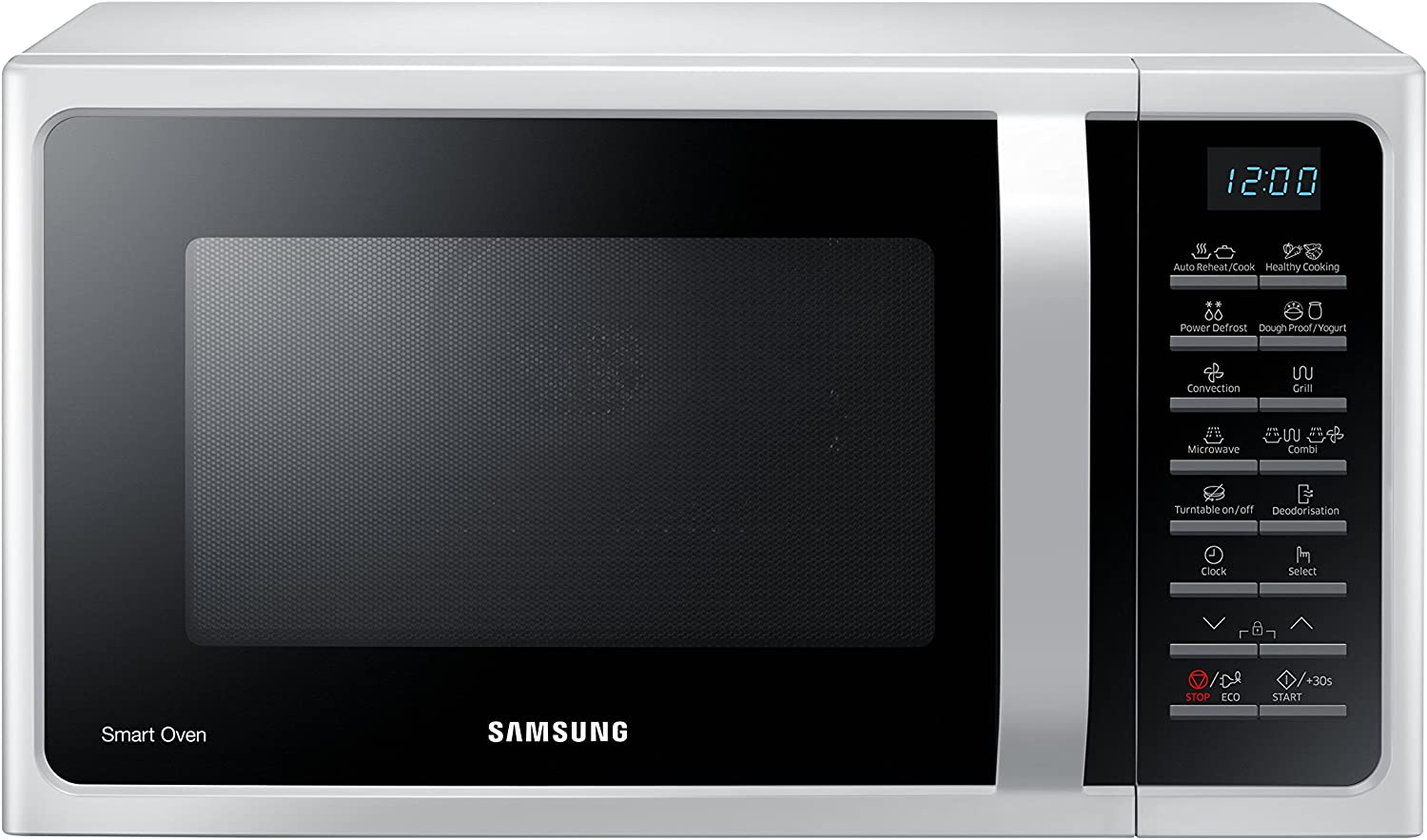 Samsung MC28H5015AW - Microondas (230V, 50 Hz, 51,7 cm, 47,56 cm, 31 cm) color blanco