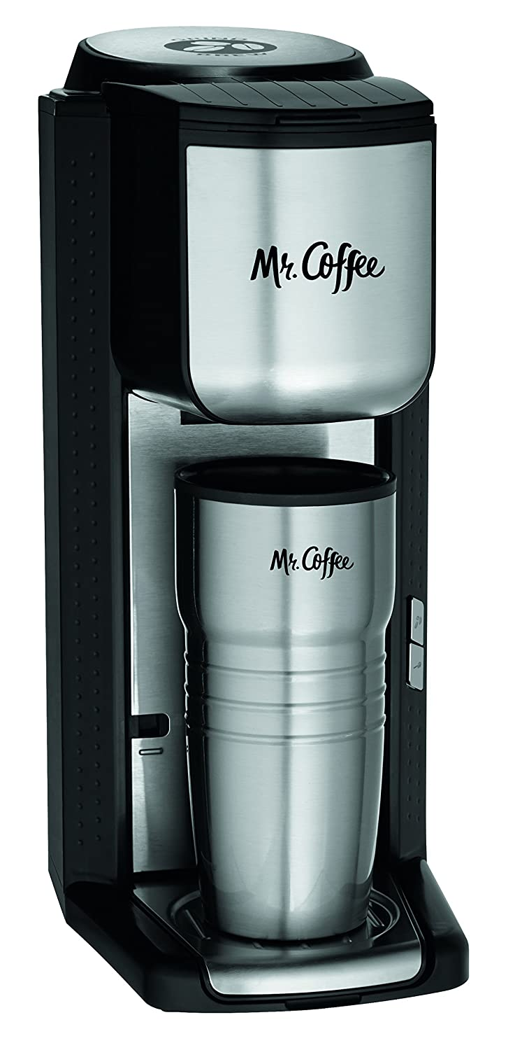 Mr. Coffee Single Cup Coffee Maker with Travel Mug Review