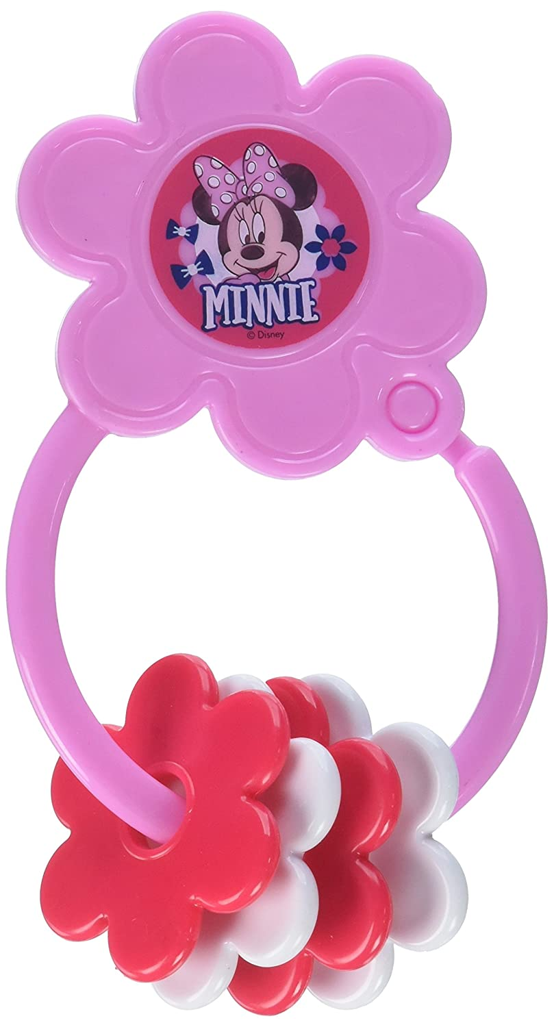 Disney Minnie Mouse Star Shape Keyring Teether Cudlie Accessories TY60079-000-AST