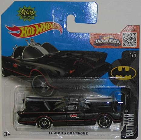 Amazon Com Tv Series Batmobile Hot Wheels 2016 Batman Series Flat