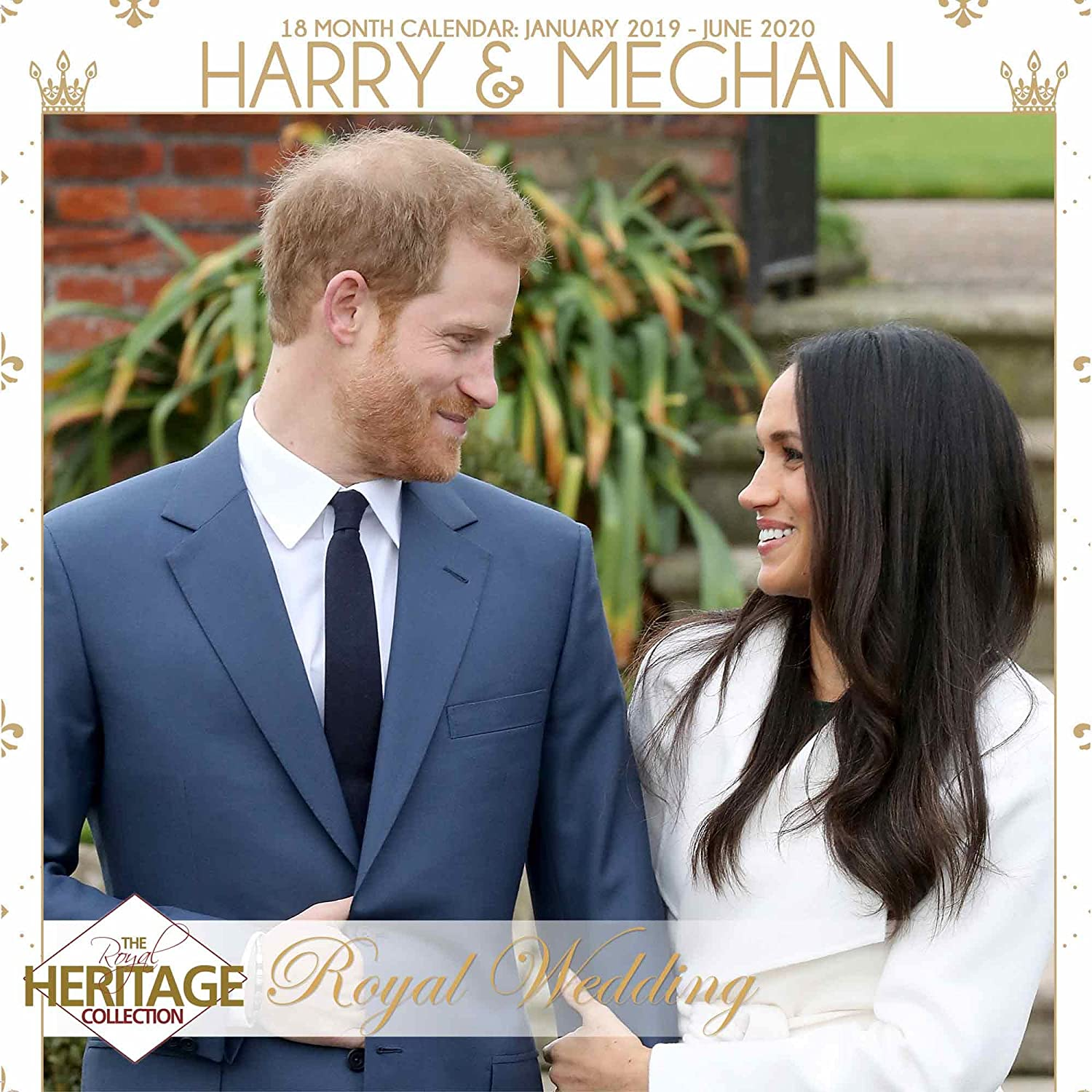 The Royals Harry And Meghan December 2019 Calendar Amazon.| Prince Harry & Meghan Royal Wedding 2019 Calendar