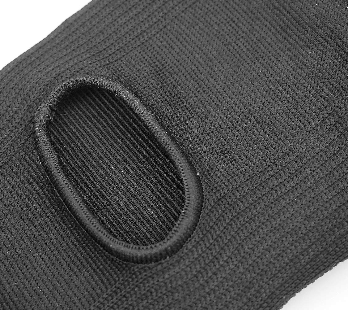 DANCEYOU Dance Knee Pads Breathable Sports Knee Support Thicked Sponge Elastic Breathable Unisex, Size XL