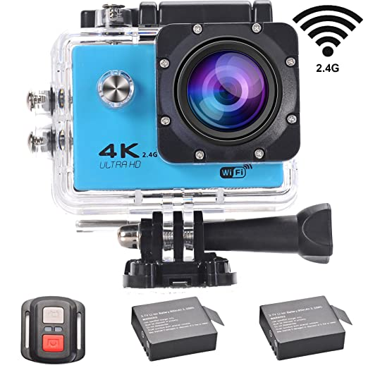 12 opinioni per LMT F60R 4K Action Cam WIFI Sport Camera Full HD 1080P 16MP Impermeabile Sport