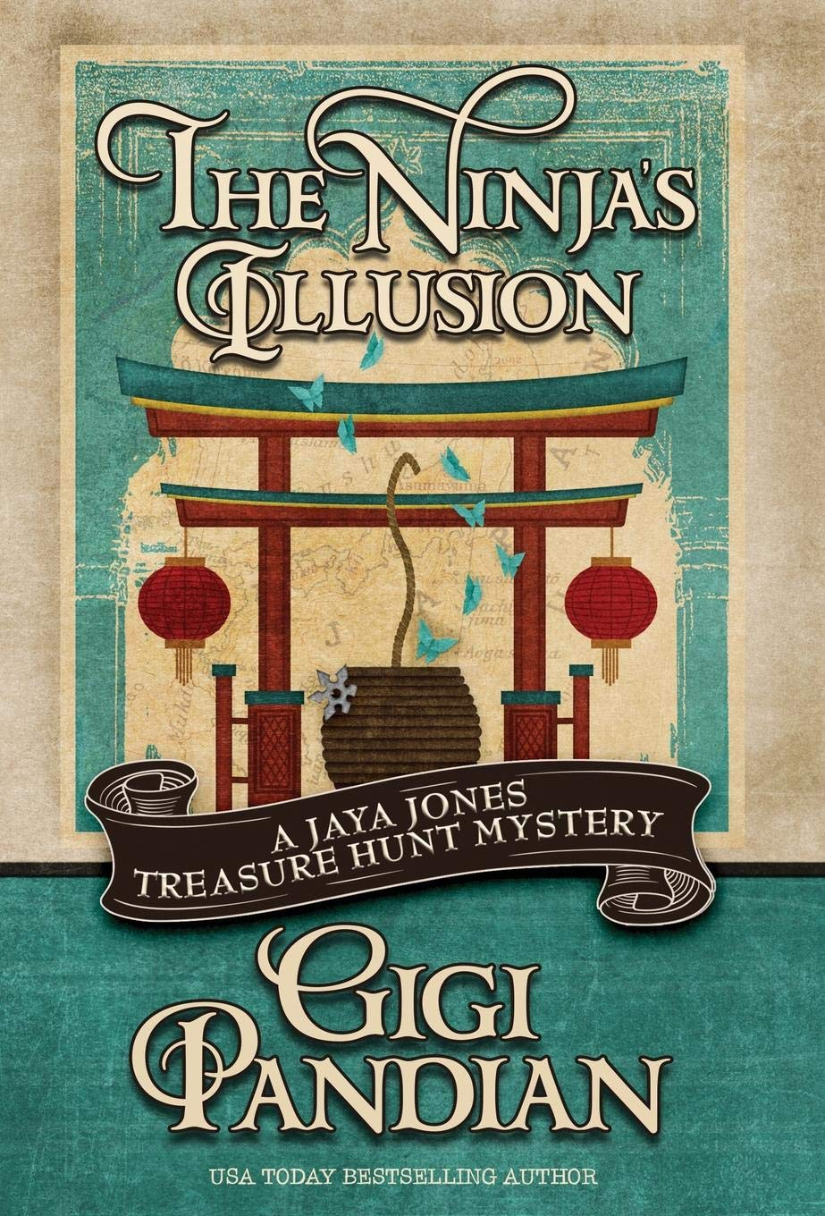 THE NINJAS ILLUSION A Jaya Jones Treasure Hunt Mystery ...