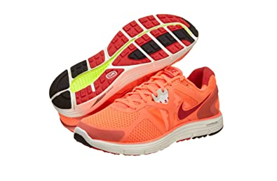 f868ecb97388 Nike Lunarglide+3 Womens Running Shoes  454315-860  Bright Mango Action
