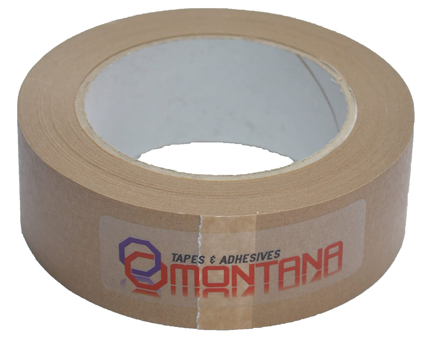 MONTANA Framers Tape Picture Framing Tape Self Adhesive Brown Paper Sticky 50mm X 50m 50MM50M