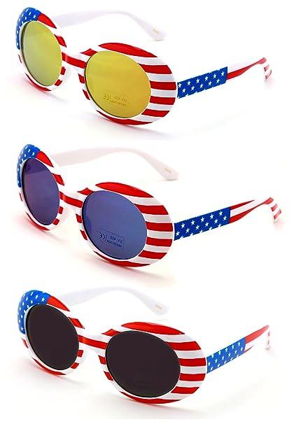 Amazon.com: V.W.E. Gafas de sol vintage UV400 con marco ...