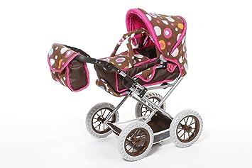 Amazon.es: Knorrtoys 63113 - Carrito de bebé de Juguete, marrón Estampado: Juguetes y juegos