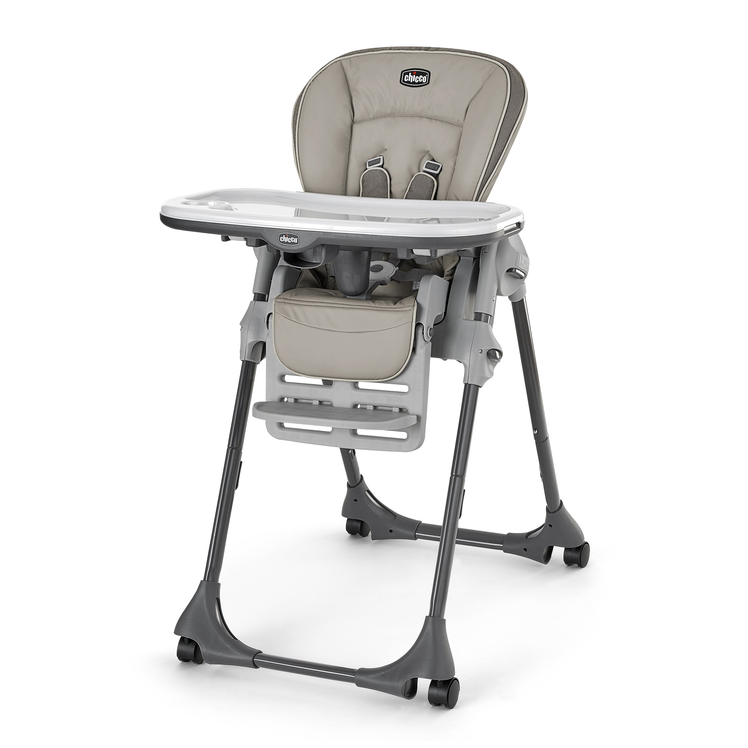 Chicco Vinyl Polly High Chair, Papyrus