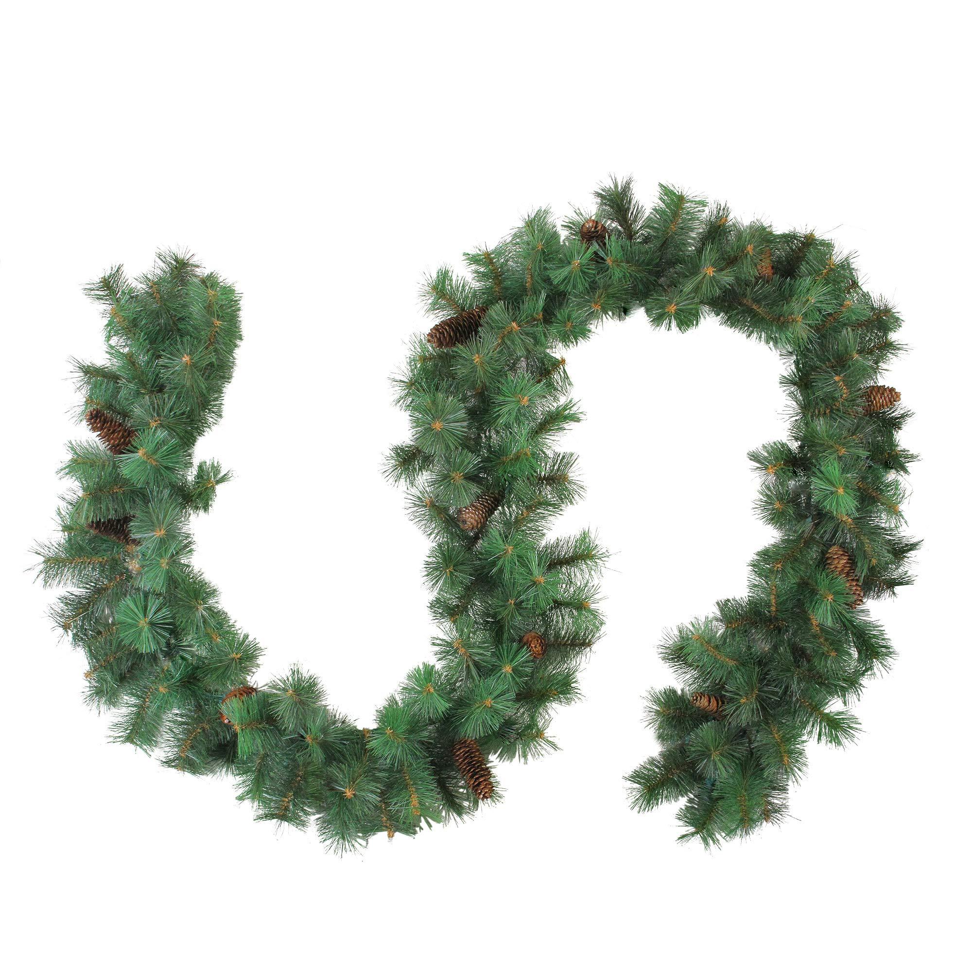Northlight 9' x 12'' Royal Oregon Pine Artificial Christmas Garland - Unlit