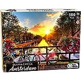 Quebra - Cabeça Amsterdam 500 Pçs - Premium, Pais & Filhos, Sortidas