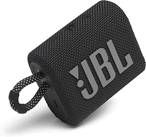 JBL Go 3 Portable Speaker with Bluetooth Builtin Battery Waterproof and Dustproof Feature  Black at Kapruka Online for specialGifts