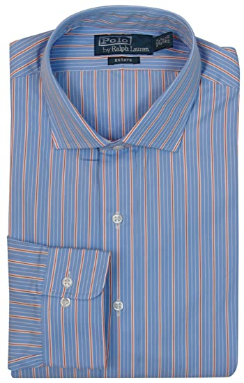 5bb01fa553cb Polo Ralph Lauren Mens Long Sleeve Custom Fit Dress Shirt at Amazon Men s  Clothing store
