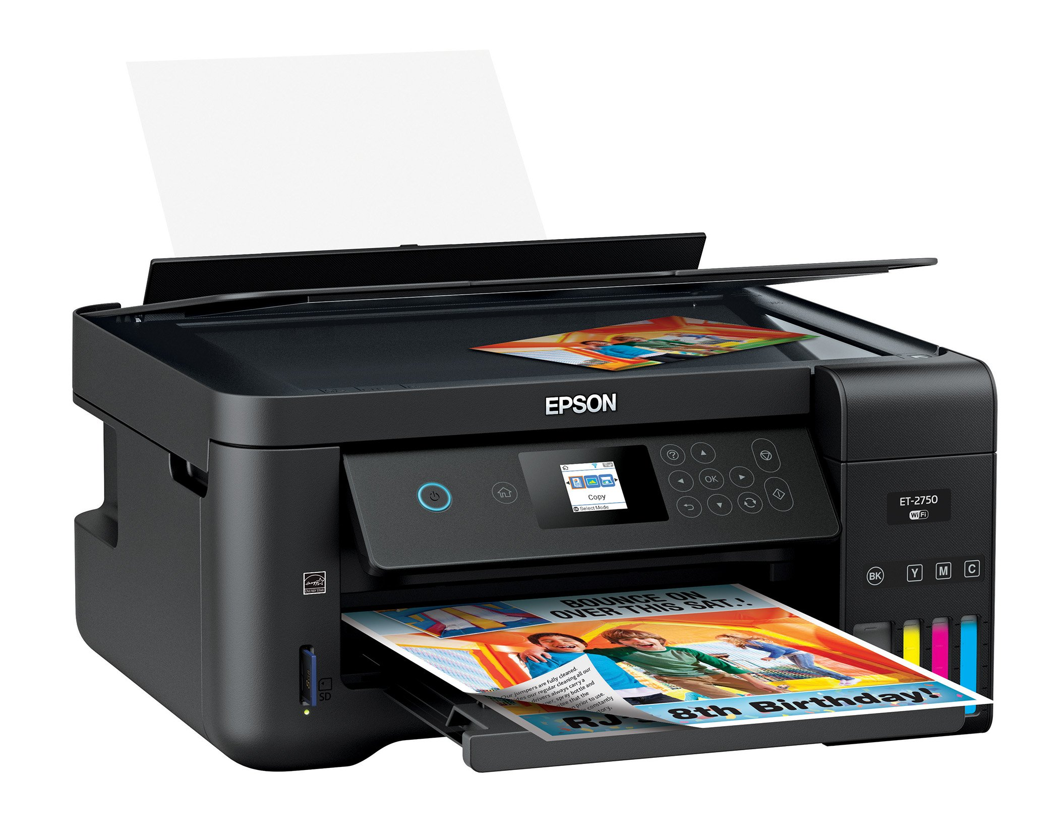 Epson Expression ET-2750 EcoTank Wireless Color All-in-One Supertank Printer with Scanner and Copier by Epson (Image #4)