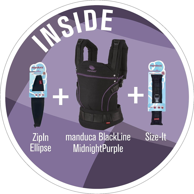 Innenfutter in Kontrastfarbe manduca Babytrage First 2018  BlackLine AbsoluteBlue  Optimierte 3-P-H/üftgurtschnalle Bauch H/üft- und R/ückentrage f/ür Babys und Kinder von 3,5-20kg schwarz-blau