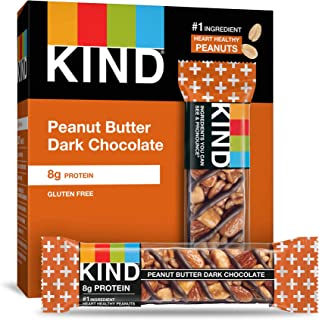 product image for KIND Bars, Peanut Butter Dark Chocolate, Low Sugar, Gluten Free Bars, 1.4 Ounce, 60 Count