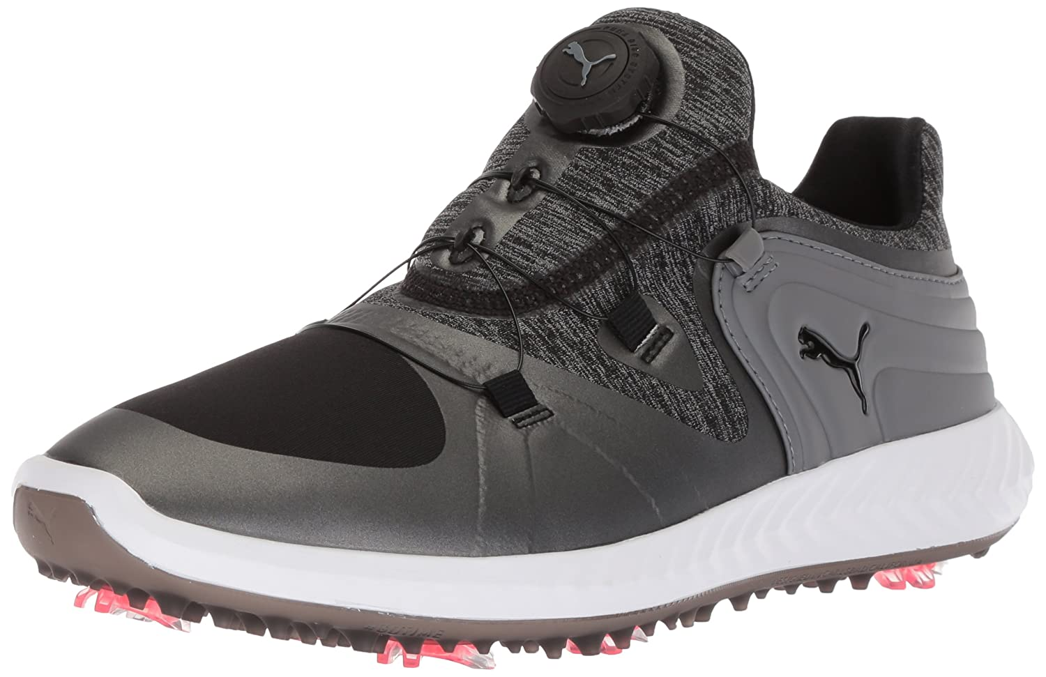 PUMA Women's Ignite Blaze Sport Disc Golf Shoe Gray B074ZHMDQ3 7.5 B(M) US|Black/Steel Gray Shoe eb8b91
