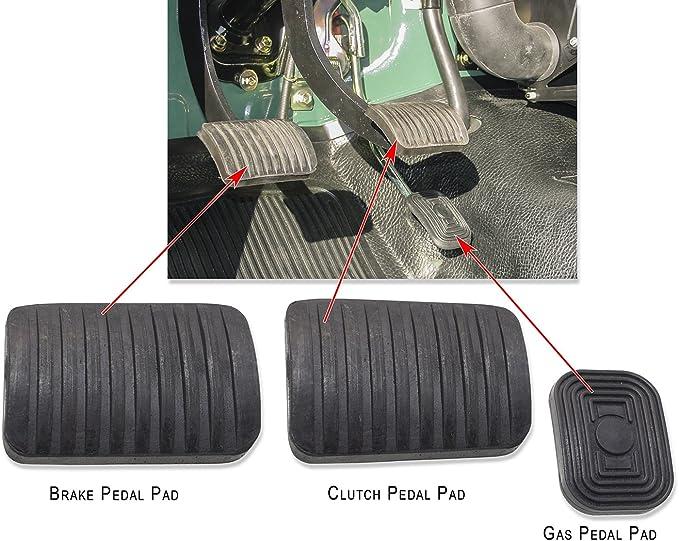 Pedal Y Capucha Kit de almohadillas para Land Cruiser FJ40 & bj40 serie - 1958 a 1978: Amazon.es: Coche y moto