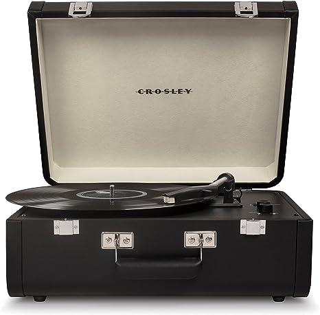 Crosley cr6252ablk Crosley Portfolio Turntable Tocadiscos ...