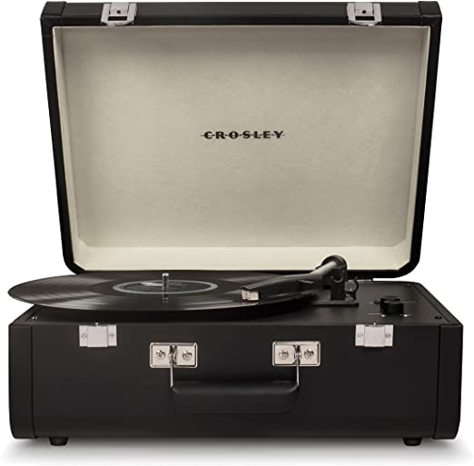 Review Crosley CR6252A-BK Portfolio Portable