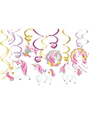 Amscan International 671929 SwirlSWIRL Value Pack 12CT Magic Unicorn