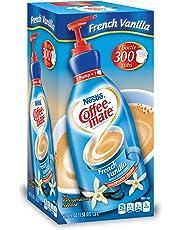 Nestle Coffee Mate Coffee Creamer, French Vanilla, 1.5L Liquid Pump Bottle, Pack of 1