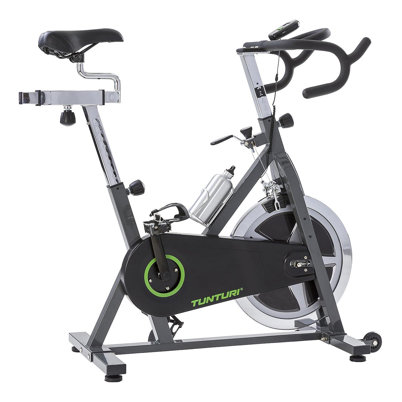 Tunturi Cardio Fit S30 Sprinter bike / Indoor Cycling Bike / Heimtrainer / Speedbike / Exercise Bike - Schwarz