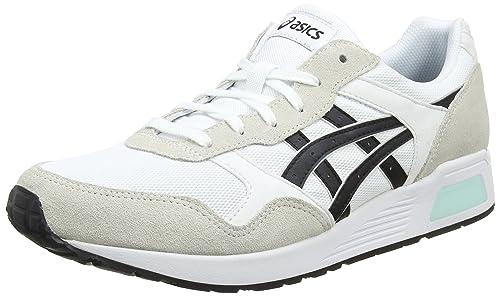 Asics Lyte-Trainer, Scarpe da Running Uomo, Bianco (White/Black 0190), 44.5 EU