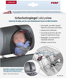 Baby Rücksitzspiegel SafetyView für mehr Sicherheit im Auto reer 8601 bruchsi