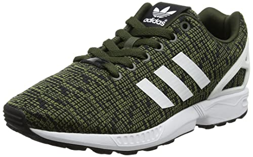 adidas ZX Flux, Zapatillas para Hombre, Verde (Night Cargo/Footwear White/Core Black), 40 2/3 EU: Amazon.es: Zapatos y complementos