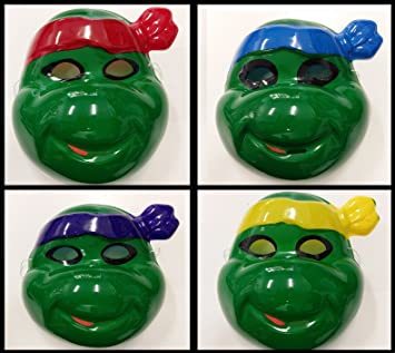 Takestop® Máscara Tortugas Tortuga Ninja disfraz de carnaval ...