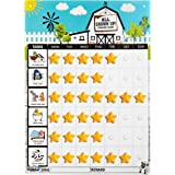 Playco Magnetic Reward Chart for Kids - Pre Assembled - Chores, Behaviors, Responsibilities, Routines - 11 X 15.5 inches - A Must Have for Your Parenting Toolkit