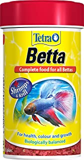 tetra betta fish food biologically balanced  plete food for all bettas 100 ml zoomed floating betta bed leaf hammock  amazon co uk  pet supplies  rh   amazon co uk
