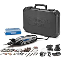 Dremel 4300-5/40Rotary Kit de herramientas con Universal 3-jaw Chuck, 5accesorios de alto rendimiento y 40accesorios